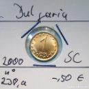 Monedas antiguas de Europa: BULGARIA - LOTE DE 1 STOTINKI - 2 LEVA 2015 DE CARTUCHOS - S / C - ENCARTONADA - VISITA MIS LOTES. Lote 146577858