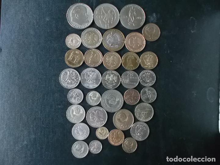 SUPERCOLECCION MONEDAS DE URRS Y ACTUAL FEDERACION RUSA (Numismática - Extranjeras - Europa)