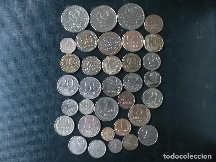 Monedas antiguas de Europa: supercoleccion monedas de URRS y actual Federacion Rusa - Foto 2 - 146753322