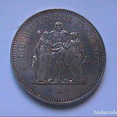 Monnaies anciennes de France: 50 FRANCOS DE PLATA. FRANCIA.1975.. Lote 147009178
