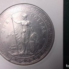 Monedas antiguas de Europa: GRAN BRETAÑA 1902 SILVER TRADE DOLLAR REINO UNIDO. EBC. Lote 147261154