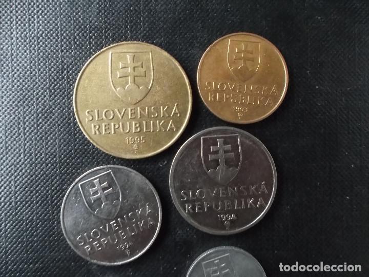 Monedas antiguas de Europa: monedas de la Eslovaquia - Foto 5 - 147291946