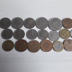 Monedas antiguas de Europa: LOTE DE MONEDAS FRANCESAS DE DIFERENTES DÉCADAS.. Lote 147305457
