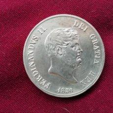 Monedas antiguas de Europa: ITALIA - NÁPOLES EXCELENTE 120 GRANA 1856 FERNANDO II REY DE LAS DOS SICILIAS -PLATA. Lote 147335554