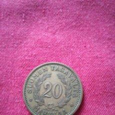 Monedas antiguas de Europa: 20 MARK SUOMI 1934. Lote 147495026