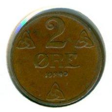 Monedas antiguas de Europa: NORUEGA 2 ORE 1940 ( MBC+ ) KM # 371. Lote 147556598