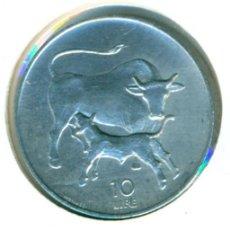 Monedas antiguas de Europa: SAN MARINO 10 LIRAS 1972 ( SC ) KM # 17. Lote 147556650