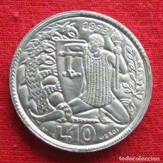 Monedas antiguas de Europa: SAN MARINO 10 LIRE 1973 UNC. Lote 147645918