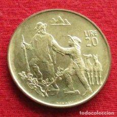 Monedas antiguas de Europa: SAN MARINO 20 LIRE 1972 UNC. Lote 147646250