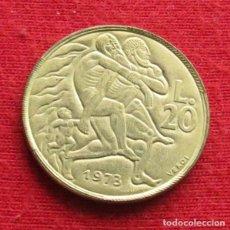 Monedas antiguas de Europa: SAN MARINO 20 LIRE 1973 UNC. Lote 147646298