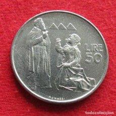 Monedas antiguas de Europa: SAN MARINO 50 LIRE 1972 UNC. Lote 147646498