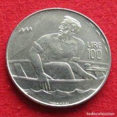 Monedas antiguas de Europa: SAN MARINO 100 LIRE 1972 UNC. Lote 147646842