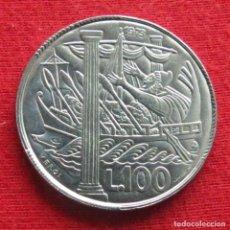 Monedas antiguas de Europa: SAN MARINO 100 LIRE 1973 UNC. Lote 147646946