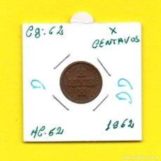 Monedas antiguas de Europa: REPUBLICA PORTUGUESA X CENTAVOS 1962 - [D - DD]. Lote 147755518