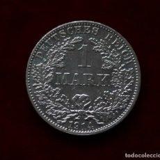 Monedas antiguas de Europa: 1 MARCO 1914 ALEMANIA PLATA CECA A. Lote 147840850