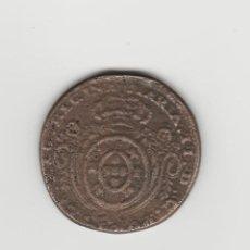 Monedas antiguas de Europa: AZORES PORTUGUESA-COLONIA DE PORTUGAL-80 REIS-1827-MARIA II-RARA. Lote 148184490