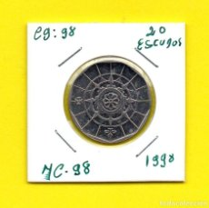 Monedas antiguas de Europa: REPUBLICA PORTUGUESA 20 ESCUDOS 1998 - [E - ED]. Lote 148220538