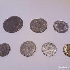 Monedas antiguas de Europa: FRANCOS SUÍZOS ACTUALES. Lote 148223194