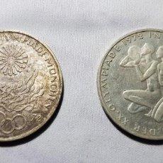 Monedas antiguas de Europa: ALEMANIA. LOTE DOS MONEDAS DIFERENTES 10 MARCOS OLIMPIADAS 1972 PLATA. Lote 148681854