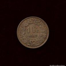 Monedas antiguas de Europa: 1 FRANCO 1943 SUIZA PLATA. Lote 148725966