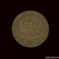 Monedas antiguas de Europa: 5 ZLOTYCH 1933 POLONIA PLATA. Lote 148760746