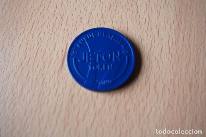 Monedas antiguas de Europa: FICHA TURQUÍA ESTAMBUL TRANSPORTE PÚBLICO METRO 2009 ISTANBUL ULASIM TÜRKIYE CUMHURIYETI JETON TOKEN - Foto 2 - 149353170