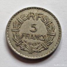 Monedas antiguas de Europa: FRANCIA 5 FRANCS 1949. Lote 149526770