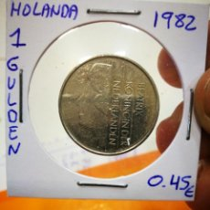 Monedas antiguas de Europa: MONEDA HOLANDA 1 GULDEN 1982. Lote 149632978