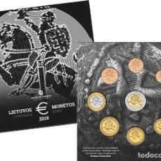 Moedas antigas da Europa: LITUANIA 2019 SET EUROS BU - LITHUANIAN COINS- LIETUVOS MONETOS CALIDAD BU. Lote 150416029