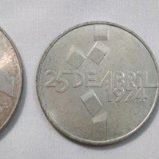 Moedas antigas da Europa: PORTUGAL LOTE DE 3 PIEZAS DISTINTAS DE PLATA. 1966-1974. Lote 150229010
