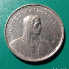 Monedas antiguas de Europa: SUIZA. 5 FRANCS 1973.. Lote 150266894