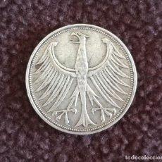 Monedas antiguas de Europa: 5 MARCOS DE 1951 - ALEMANIA (RFA) - CECA D (MUNICH). Lote 151385358