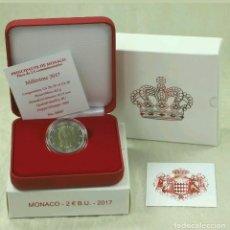 Monedas antiguas de Europa: MONEDA MONACO 2 EUROS 2017 BU SOLO 1000 UNIDADES. Lote 151509394