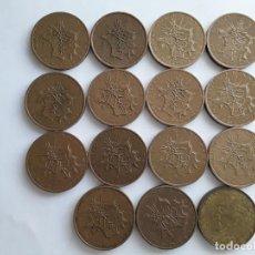 Monnaies anciennes de France: 15 MONEDAS DE FRANCIA DE 10 FRANCOS DE LOS AÑOS 1974 A 1982. Lote 151623742