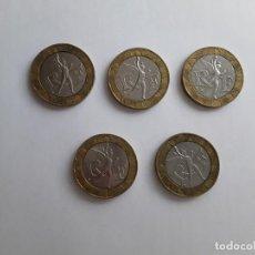 Monedas antiguas de Europa: 5 MONEDAS DE FRANCIA DE 10 FRANCOS (AÑOS 1988-1990-1991). Lote 151731134