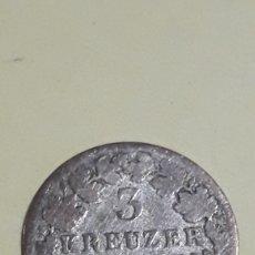 Monedas antiguas de Europa: MONEDA 3 KREUZER 1848 IMPERIO AUSTRIA. Lote 152580225