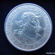 Monedas antiguas de Europa: 50 ESCUDOS, PORTUGAL, PEDRO ALVARES CABRAL, 1968, PLATA. Lote 152635334