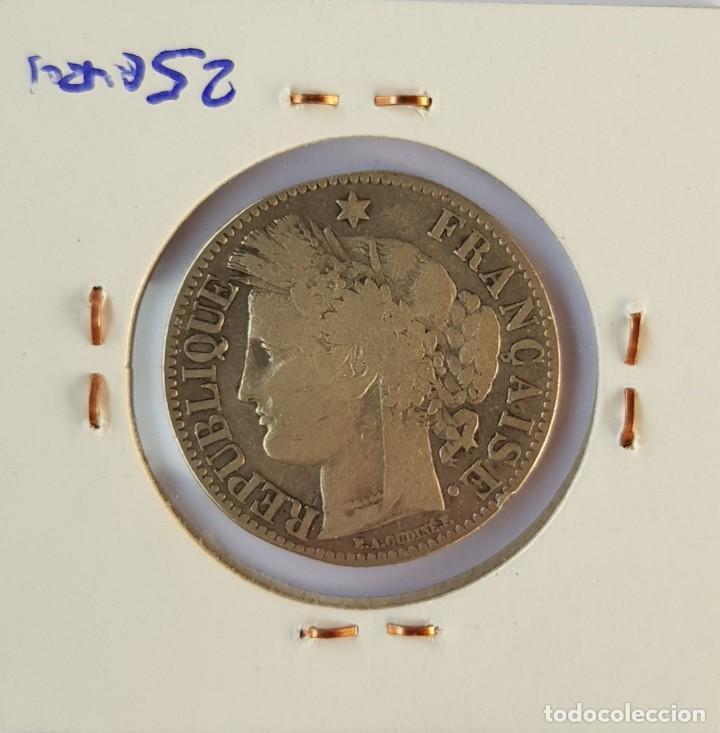 Monedas antiguas de Europa: Francia: 2 Francos 1872 -K- - Foto 2 - 152977646