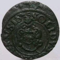 Monedas antiguas de Europa: SOLIDUS 1635 - LIVONIA - RIGA-. Lote 153118516