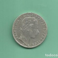 Monedas antiguas de Europa: PLATA-AUSTRIA 1 FLORIN 1861. 12,35 GR DE LEY 0,900. FRANCISCO I. Lote 153467394