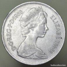 Monnaies anciennes de Europe: 10 NEW PENCE GRAN BRETAÑA 1968. Lote 154212186