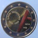 Monedas antiguas de Europa: FINLANDIA - MONEDA 2 EUROS 2014 COLOREADA - CENTENARIO DEL NACIMIENTO DE ILMARI TAPIOVAARA. Lote 154367210