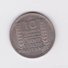 Monedas antiguas de Europa: FRANCIA : 10 FRANCS 1949 MBC+. Lote 154431334