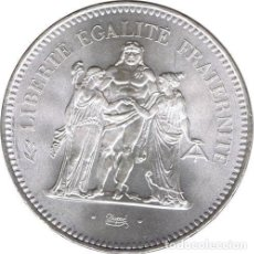 Monedas antiguas de Europa: FRANCIA 50 FRANCOS PLATA 1977 HERCULES - FRANCE 50 FRANCS SILVER 1977. Lote 154472134