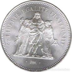 Monedas antiguas de Europa: FRANCIA 50 FRANCOS PLATA 1977 HERCULES - FRANCE 50 FRANCS SILVER 1977. Lote 154472162