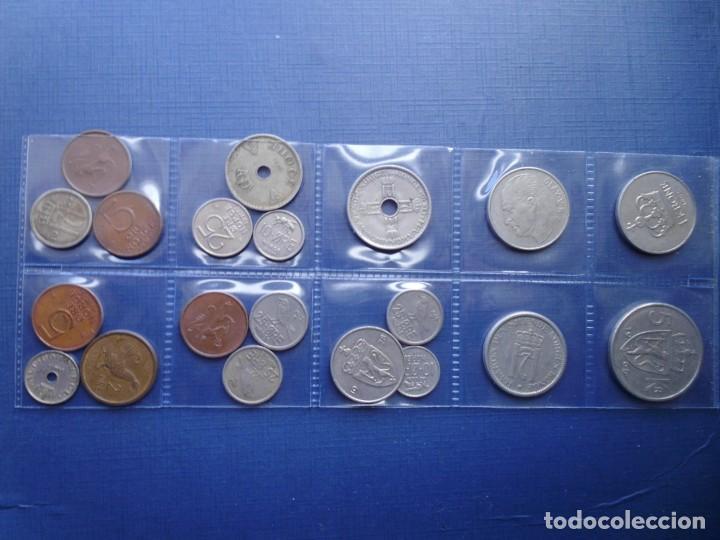 NORUEGA LOTE 20 MONEDAS DIFERENTES Nº 4 (Numismática - Extranjeras - Europa)
