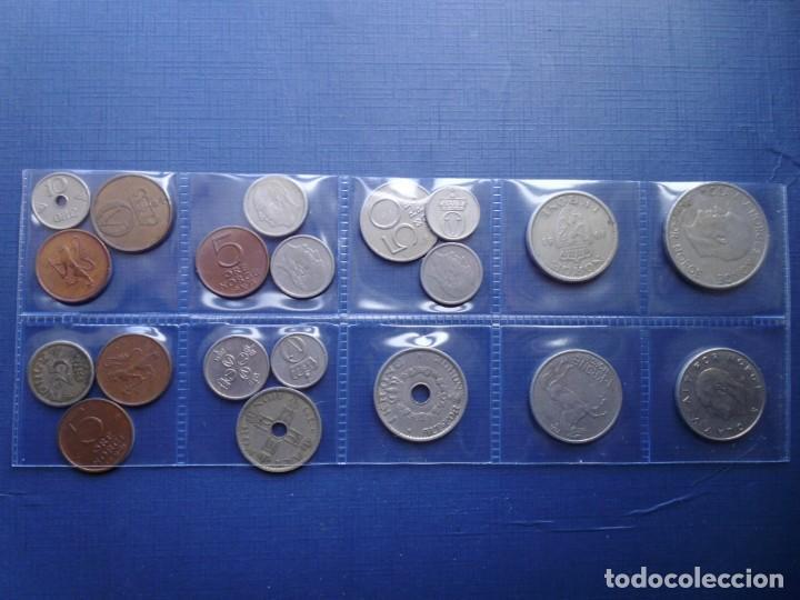 Monedas antiguas de Europa: NORUEGA LOTE 20 MONEDAS DIFERENTES Nº 4 - Foto 2 - 155346354