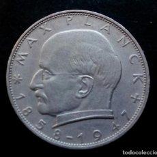 Monedas antiguas de Europa: ALEMANIA 2 MARCOS 1969 CECA F. MAX PLANK. Lote 155444038