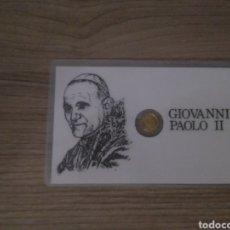 Monedas antiguas de Europa: EXCELENTE MONEDA SANTO PADRE GIOVANNI PAOLO II JUAN PABLO II PIEZA DE COLECCIONISMO. Lote 155545096
