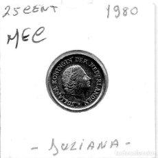 Monedas antiguas de Europa: MEC - HOLANDA 25 CENT 1980 - A11. Lote 155677442
